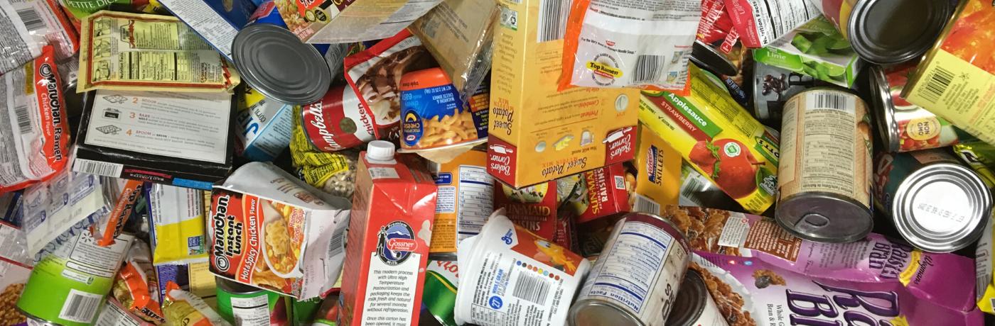 Nonperishable food donations