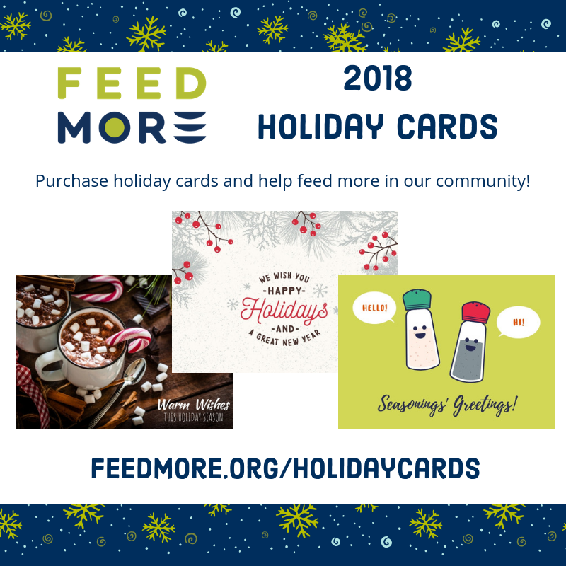 Feed More holiday cards