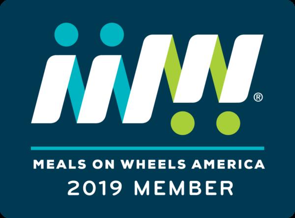 Meals on Wheels America member badge 2019