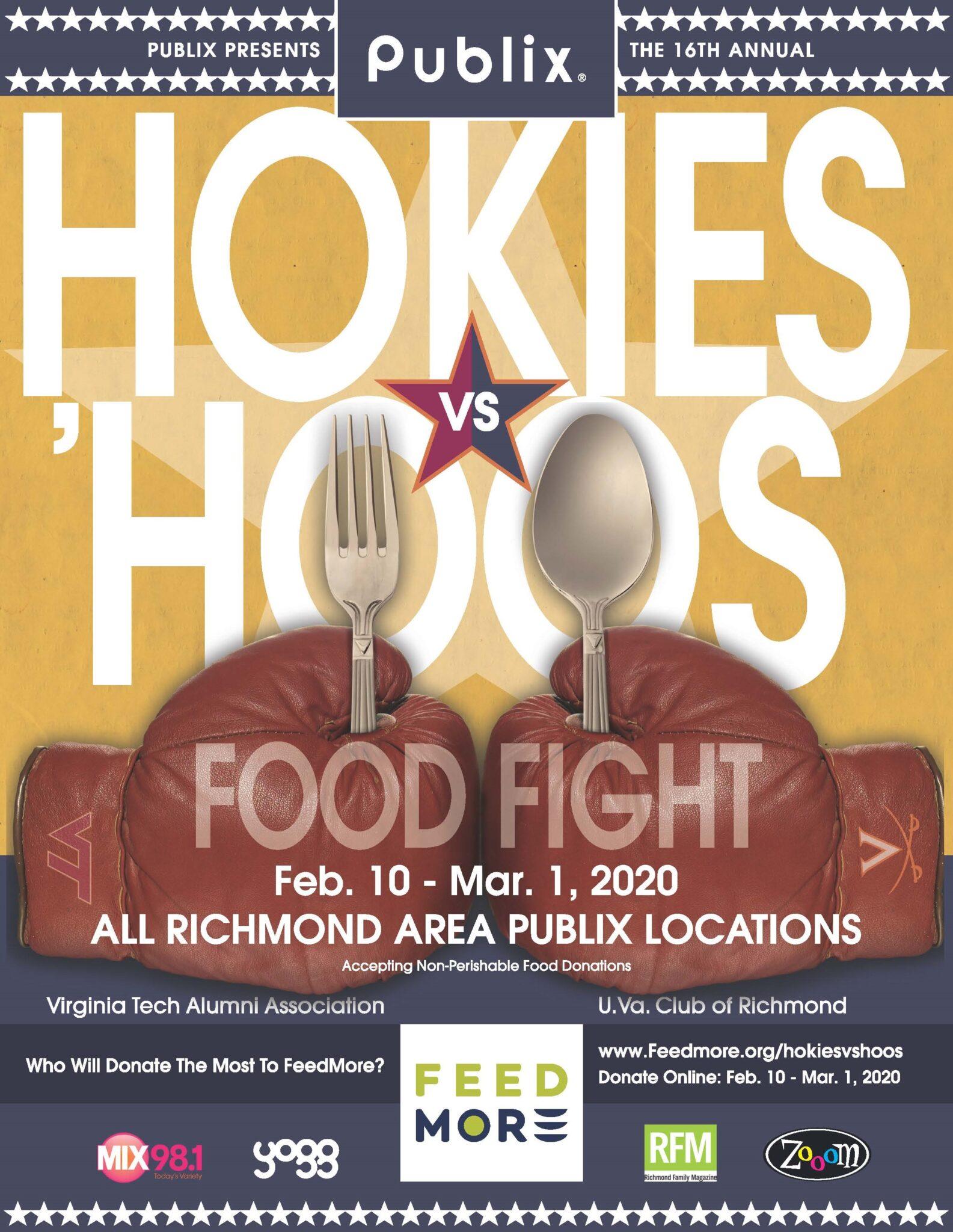 2020 Hokies vs Hoos Food Fight