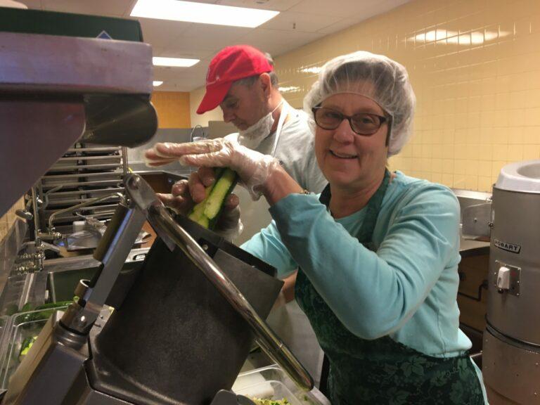 Celeste Cooper Feed More volunteer