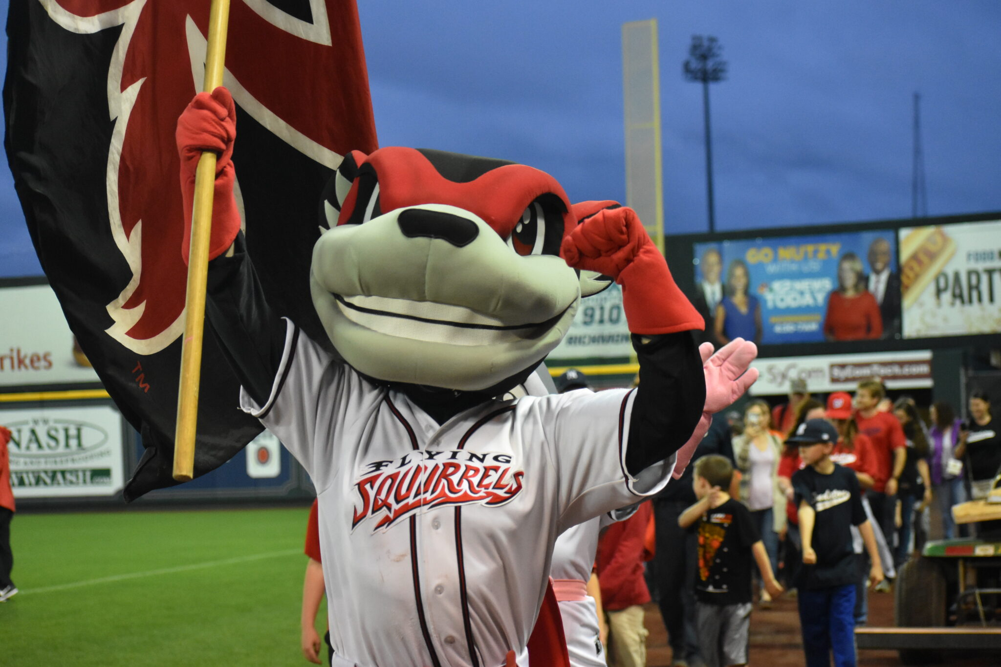 Richmond Flying Squirrels Nutsy