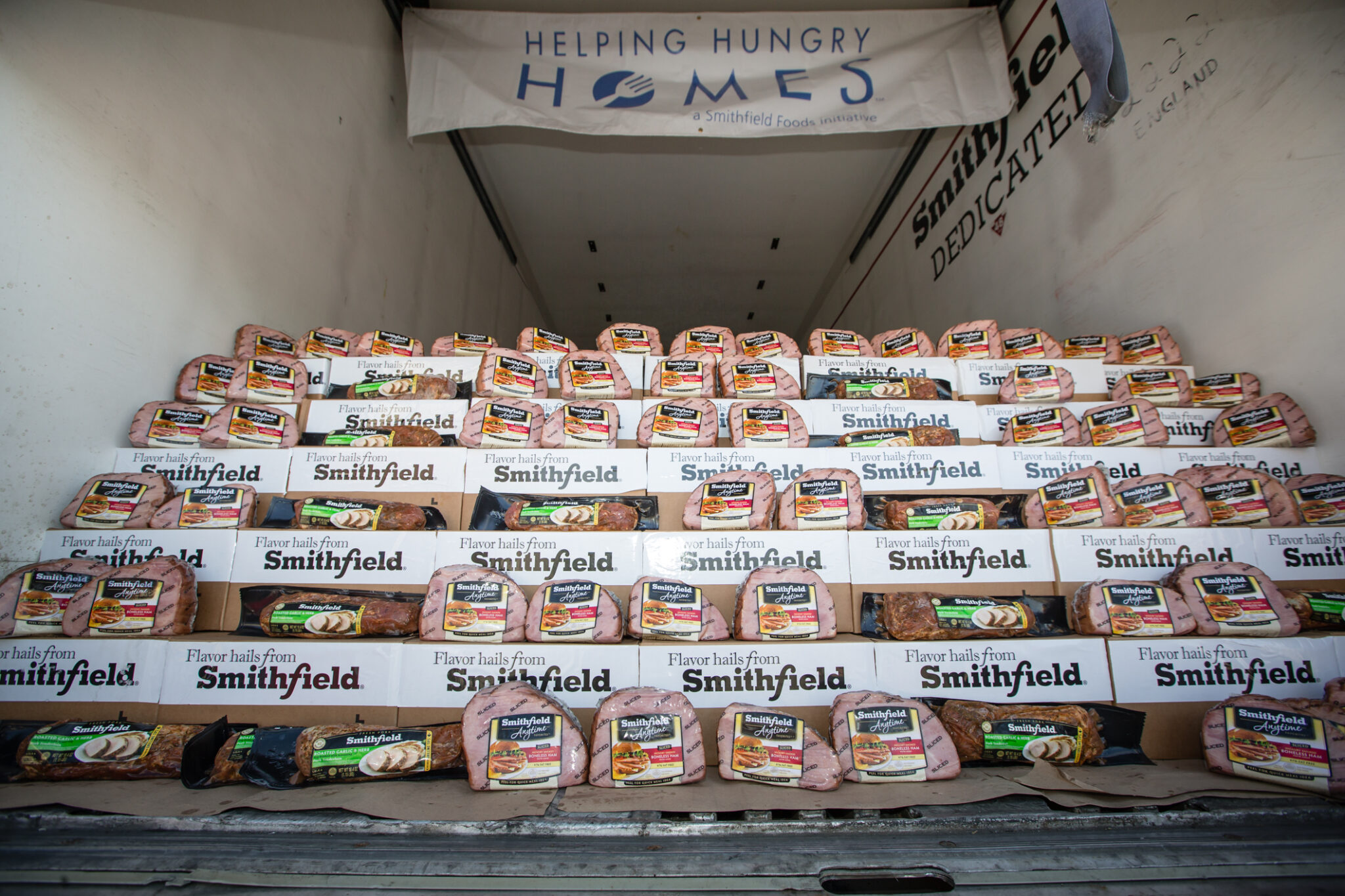 Smithfield Helping Hungry Homes