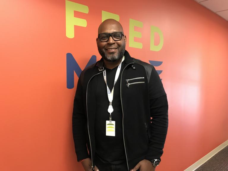 Feed More Employee Anthony Johnson