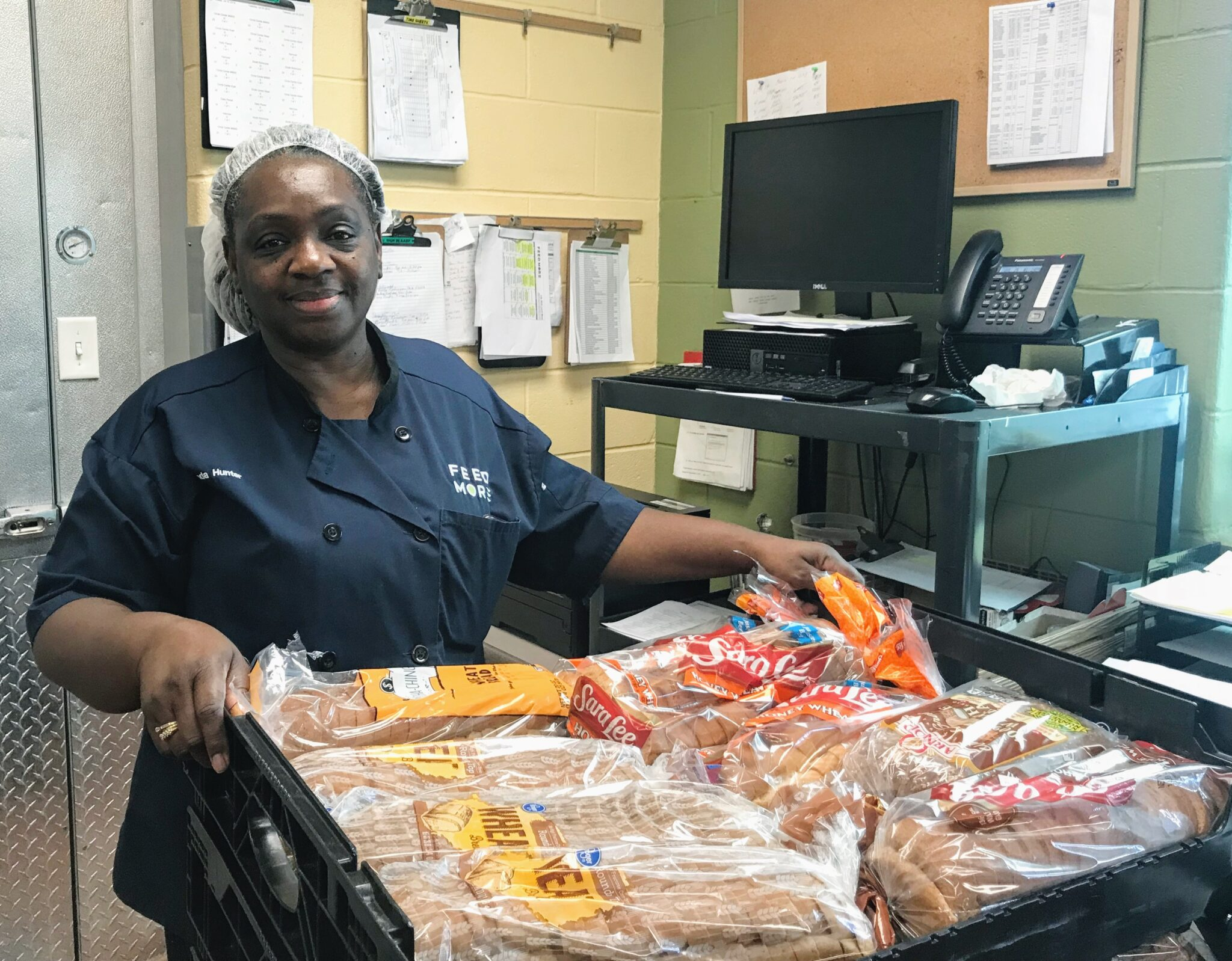 Brenda Hunter Feed More Community Kitchen