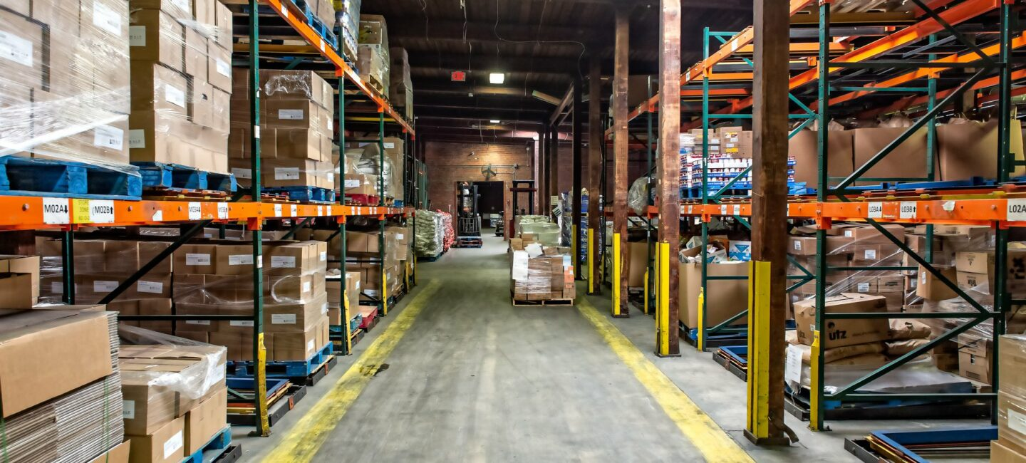 Feed More Food Bank Distribution Center warehouse