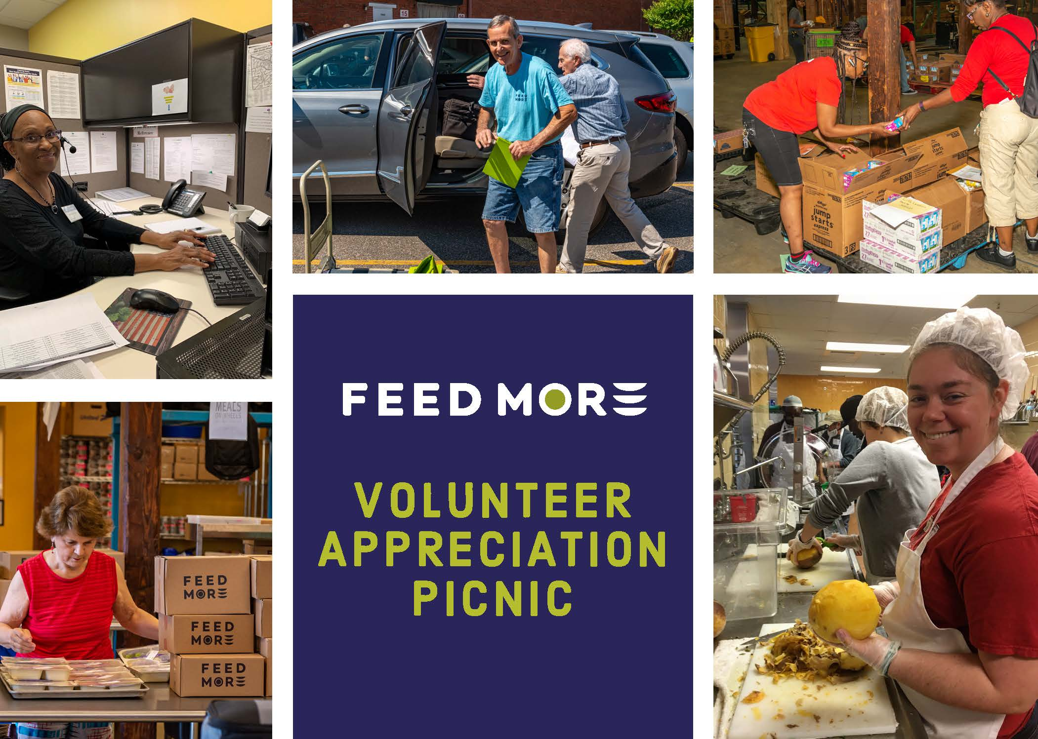 Feed More Volunteer Appreciation Picnic 2019
