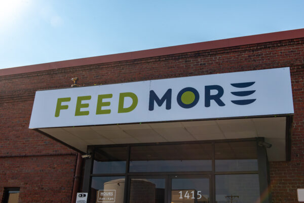 Feed More front entrance