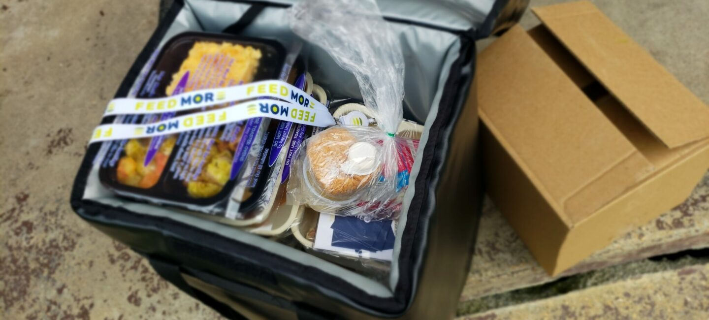 Feed More's Meals on Wheels delivery