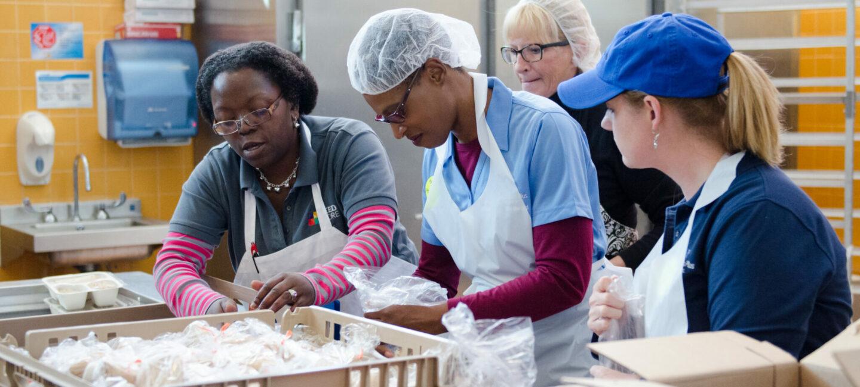FeedMore Community Kitchen Volunteers