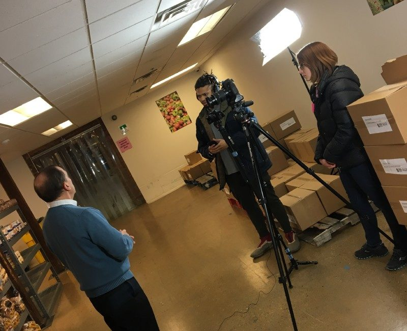 Feed More media interview leadership