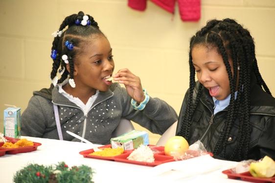 FeedMore's Kids Cafe meal