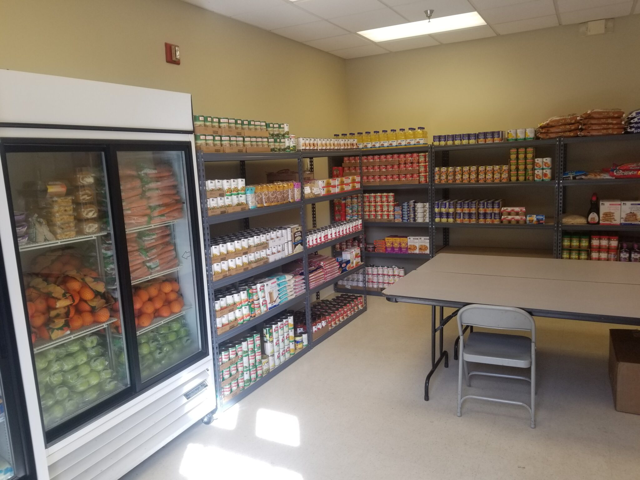Food Lion Feeds Great Pantry Makeover_Clarksville Food Pantry after picture 2