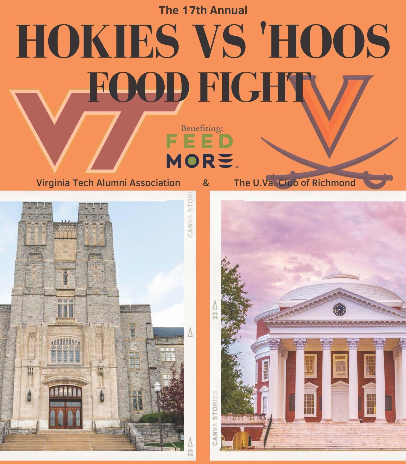 Hokies v Hoos Food Fight