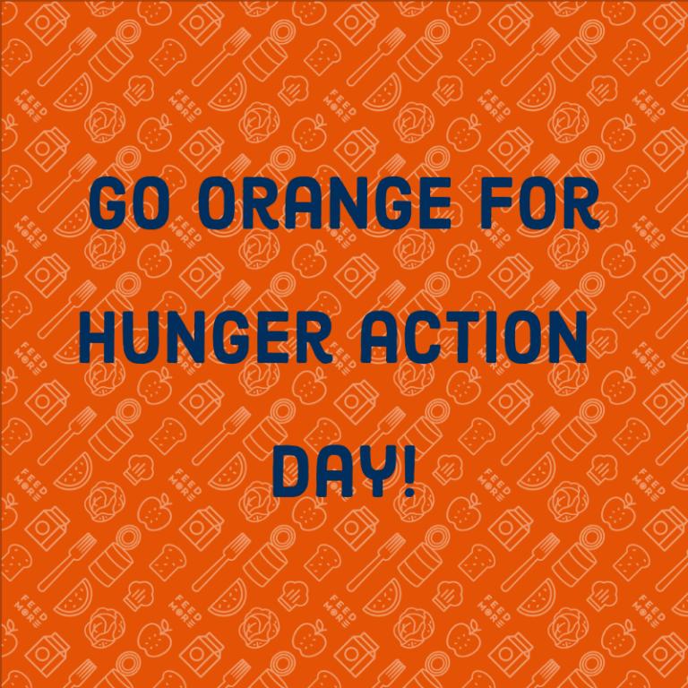 Go Orange_Hunger Action Day 2019