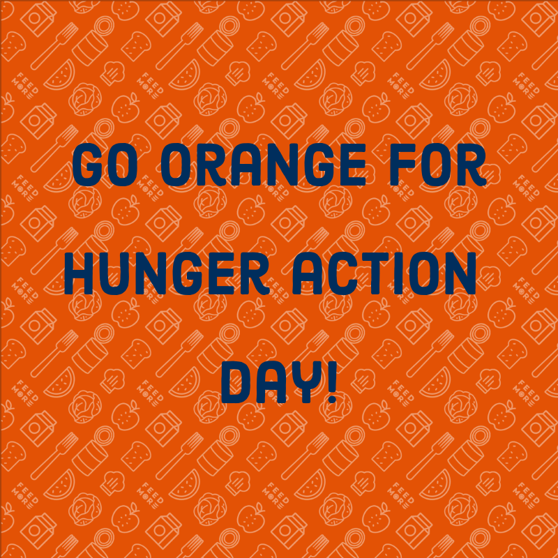 Go Orange_Hunger Action Day 2019