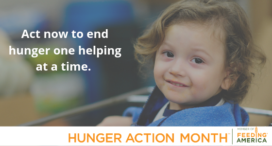 Hunger Action Month donate