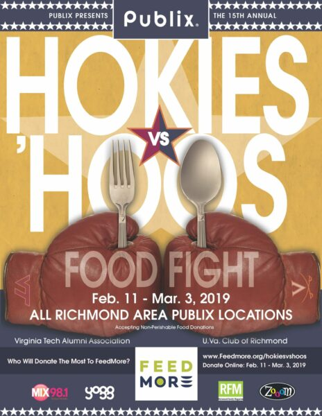 Hokies vs. Hoos Food Fight 2019