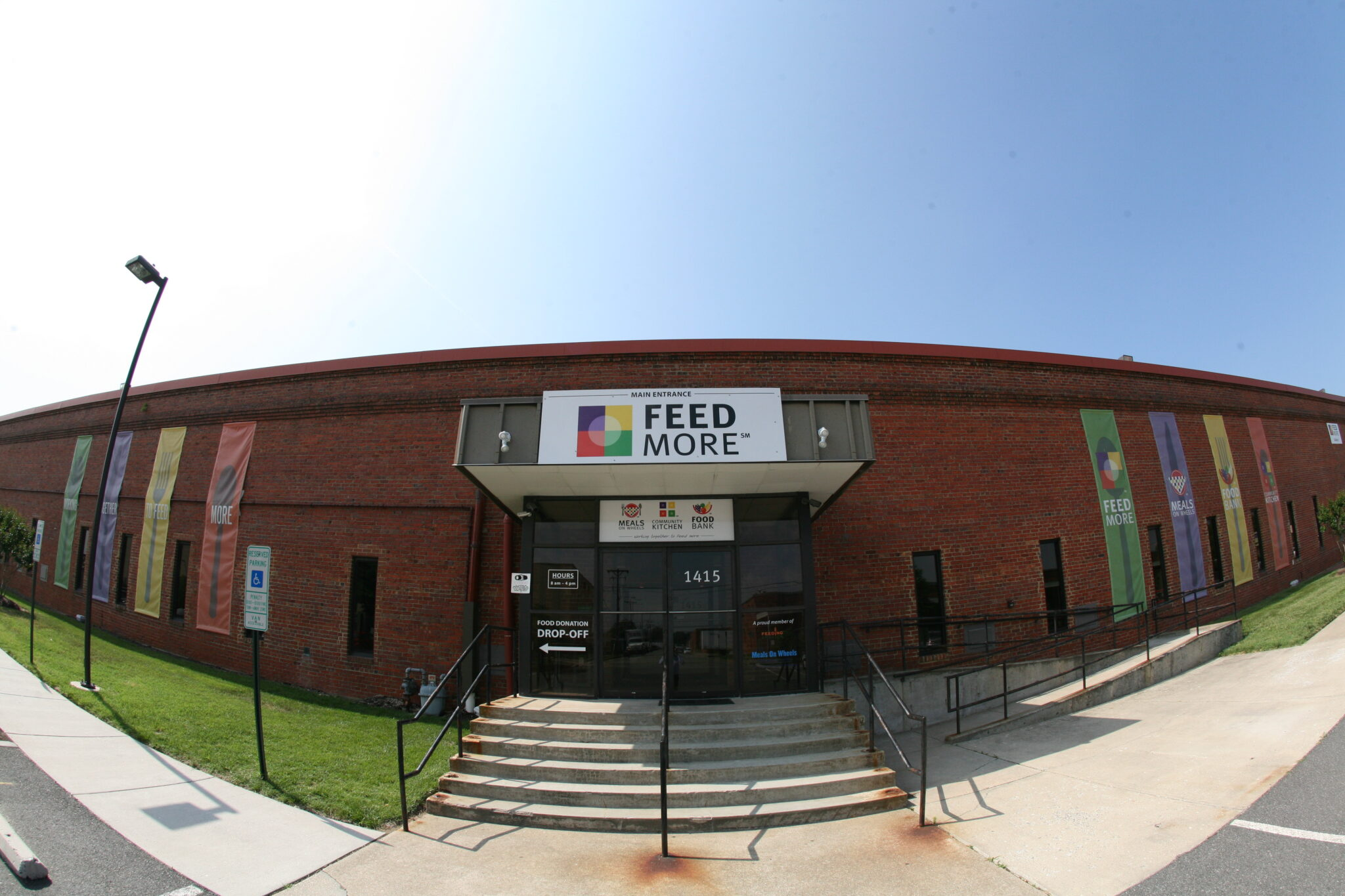 FeedMore front entrance