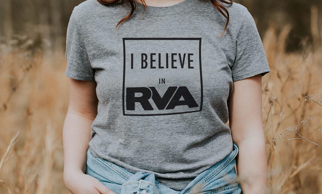 I Believe in RVA t-shirt