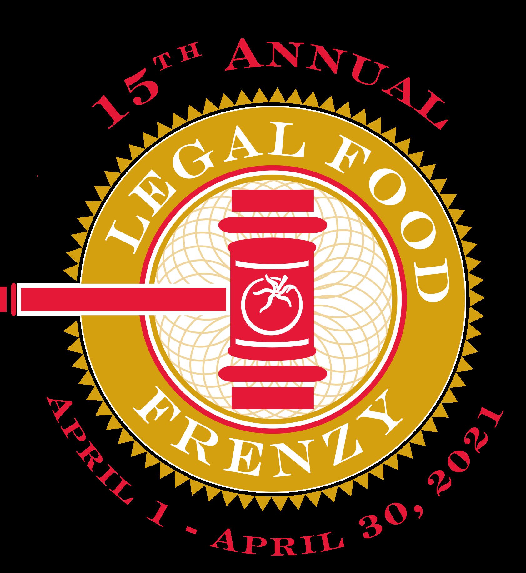 2021 Legal Food Frenzy logo