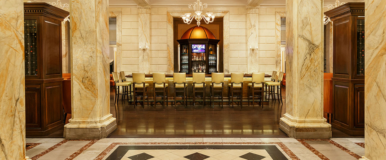 Lemaire bar at The Jefferson