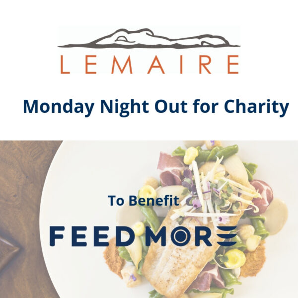 Lemaire Monday Night Charity Feed More