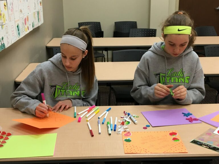 Meals on Wheels card making