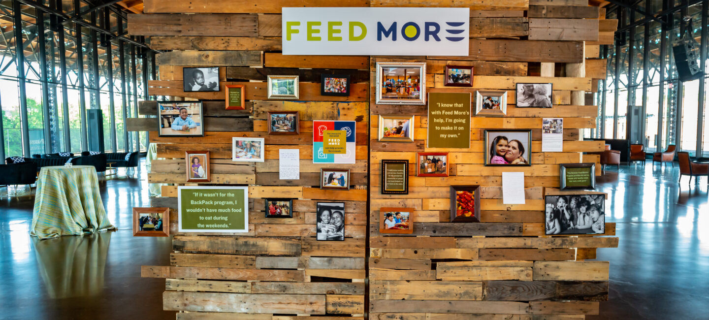 Feed More Zest Fest 2019 photo wall