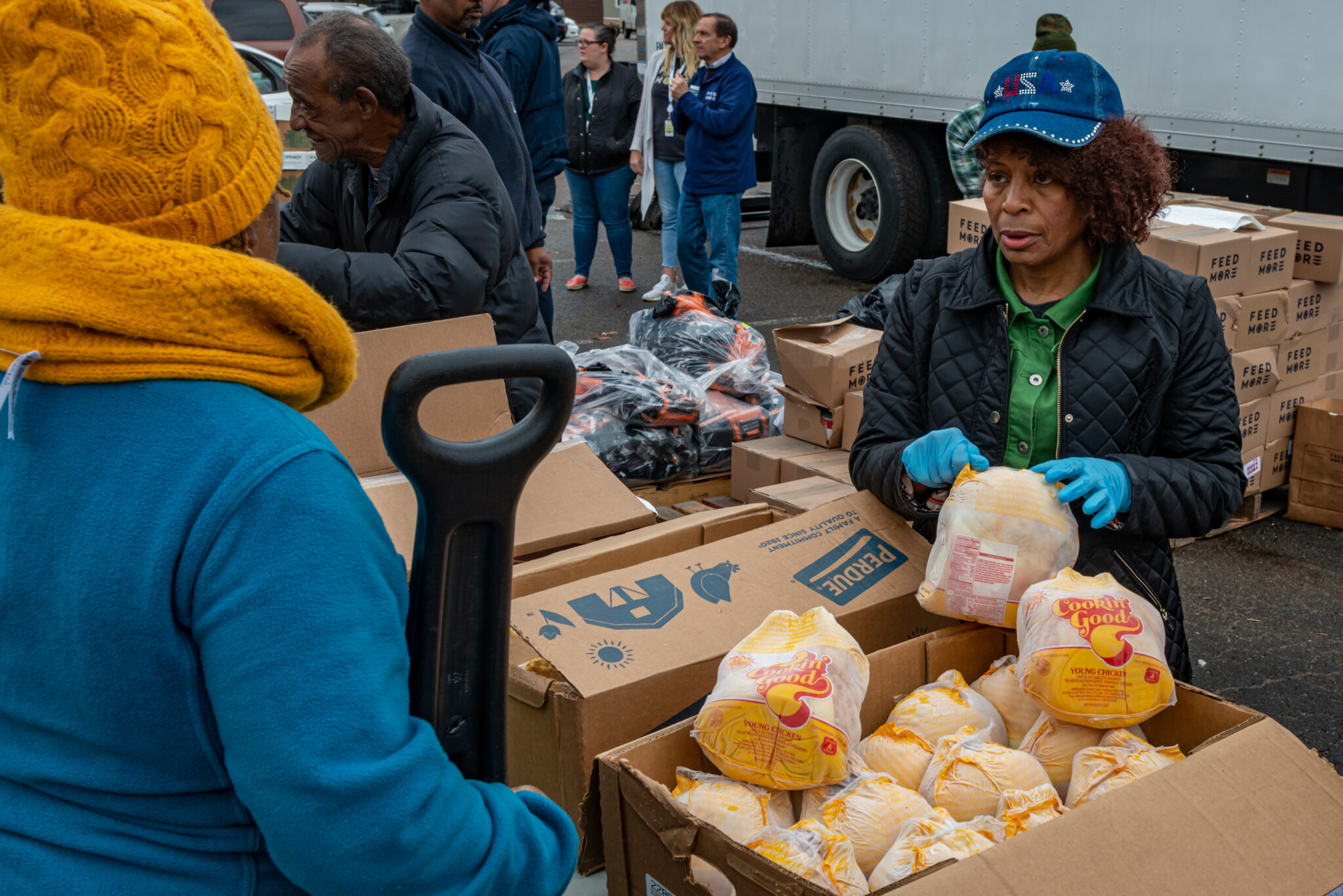 Perdue holiday distribution