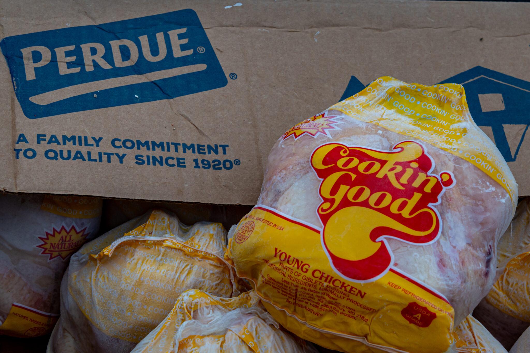 Perdue holiday roaster distribution