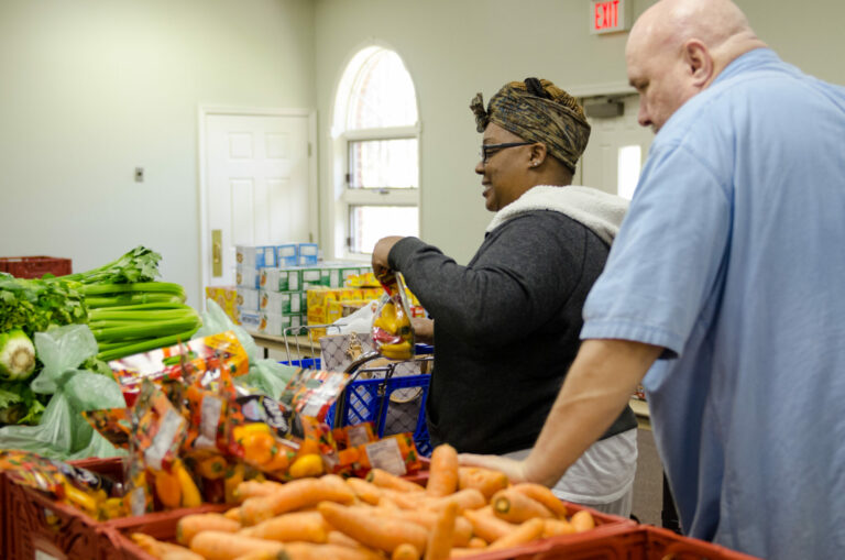 Feed More Agency Network food distribution