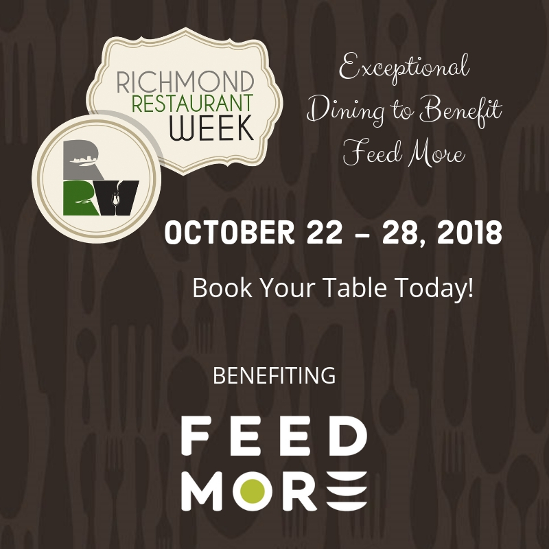 Richmond Restaurant Week Fall 2018