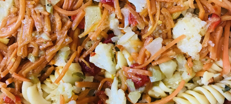 Feed More's pasta primevera