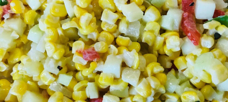 Feed More corn salad