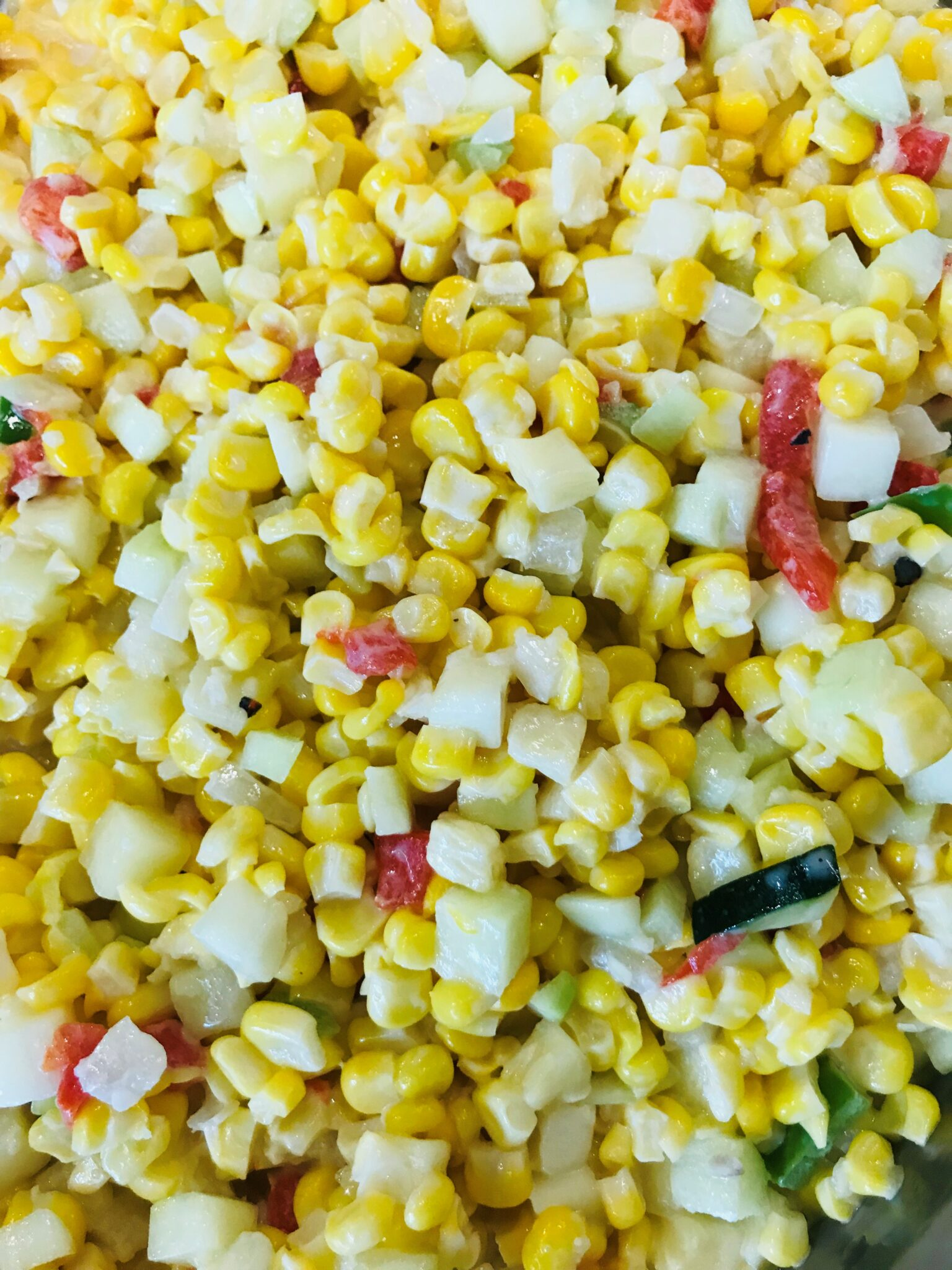Feed More corn salad