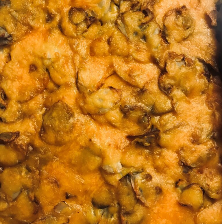 Feed More recipe scalloped potatoes and hamburger