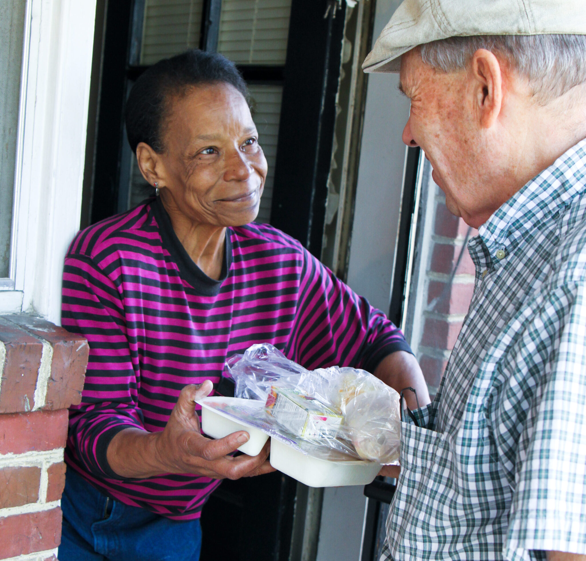 Feed More Meals on Wheels delivery