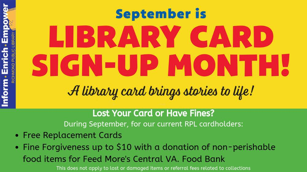 Richmond Public Library_September campaign