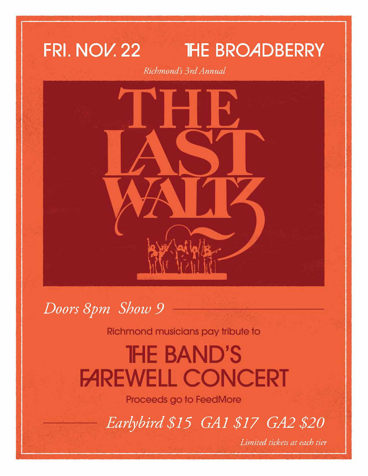 Richmond's The Last Waltz 2019