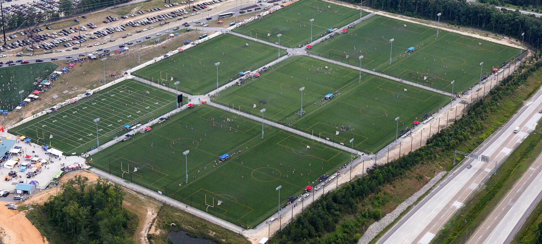 Rivery City Sports Complex field