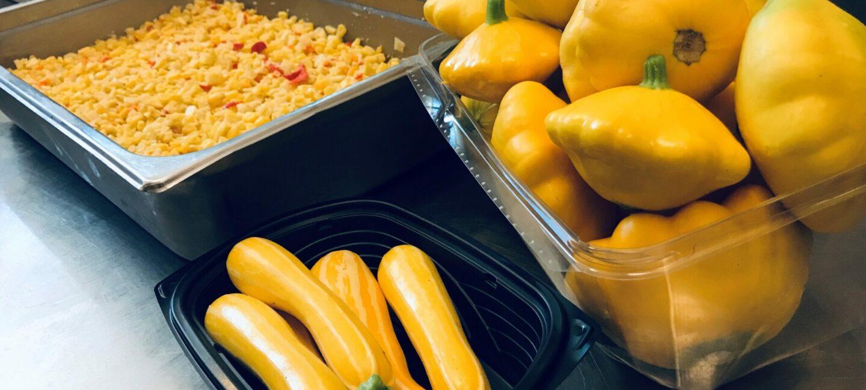 Squash Salad Feed More's Community Kitchen