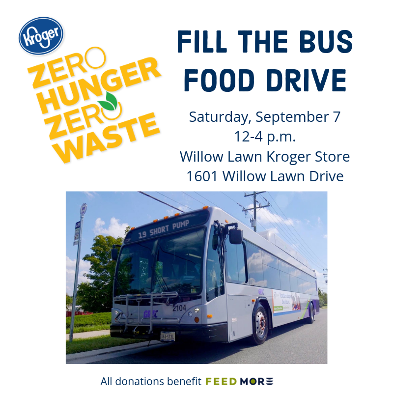 Kroger Fill the Bus Food Drive