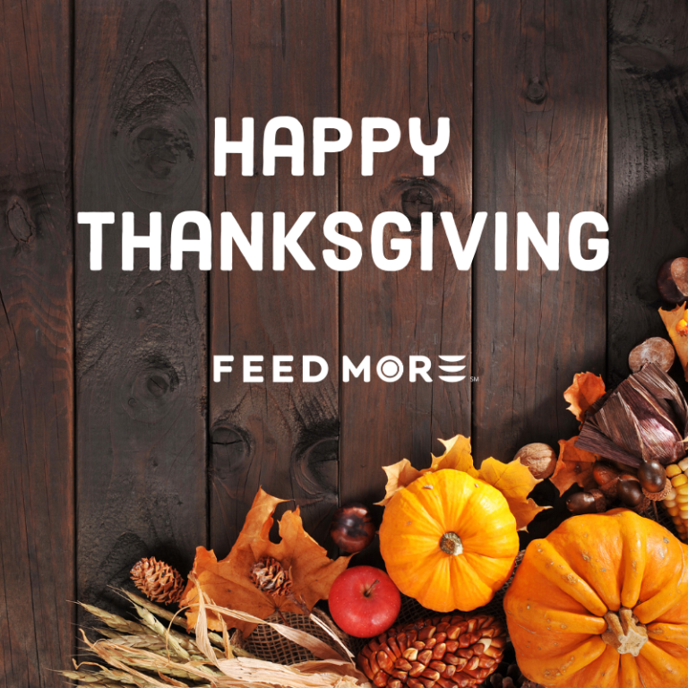 Happy Thanksgiving 2019 Feed More