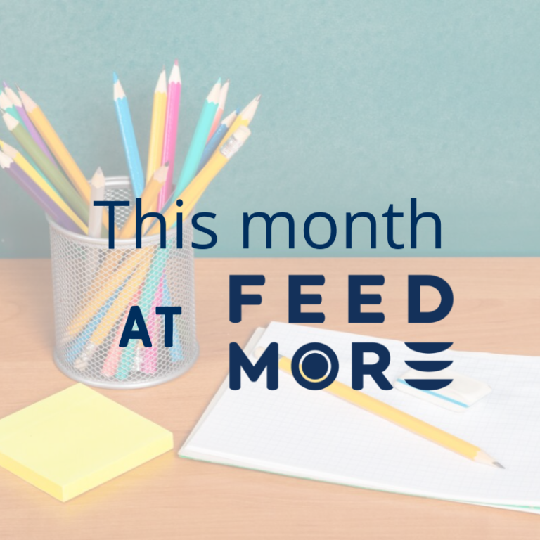 This Month at Feed More September