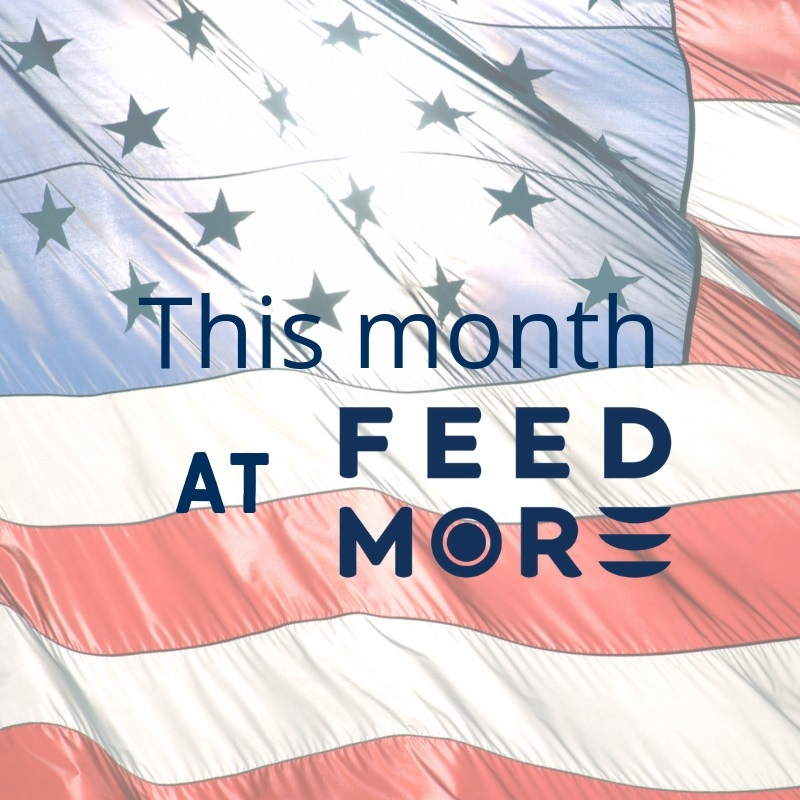 This Month at Feed More July 2019