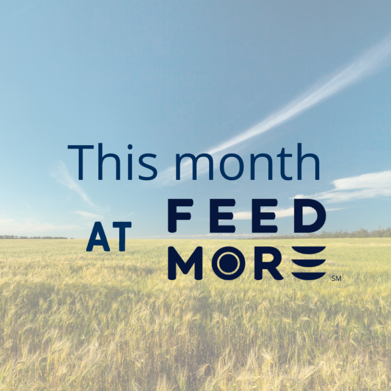 This Month at Feed More March 2020
