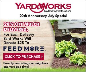 Yard Works helps Feed More