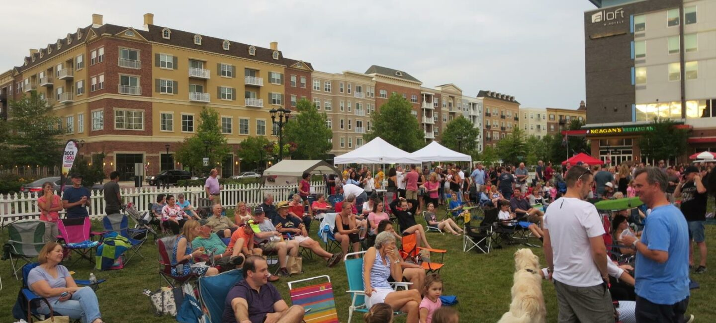 West Broad Village Summer Movies on the Lawn