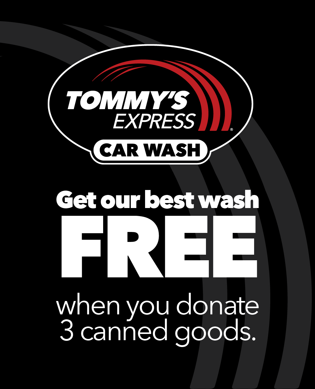 Tommy's Express Food Drive for Feed More
